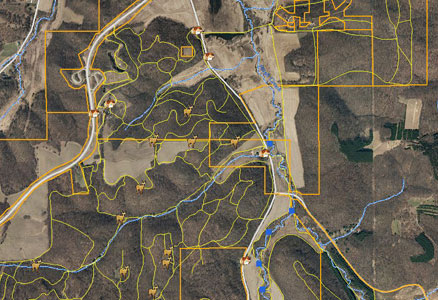 Hunting Maps Gps Custom GPS Map Development Hunting Maps Gps